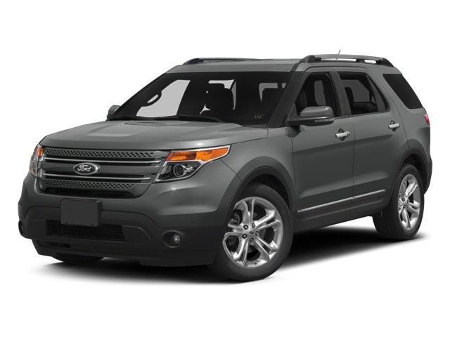 2014 FORD EXPLORER LIMITED 4DR SUV ingot silver metallic scores 24 highway mpg and 17 city mpg t