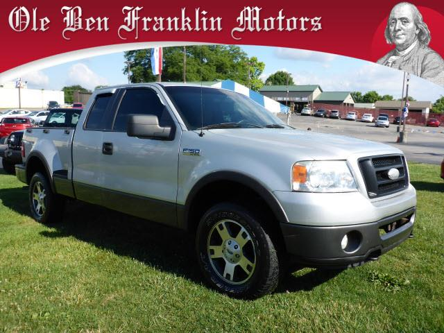 2006 FORD F-150 FX4 4DR SUPERCAB 4WD FLARESIDE 6 gray abs brakes 4-wheelair conditioning - fro