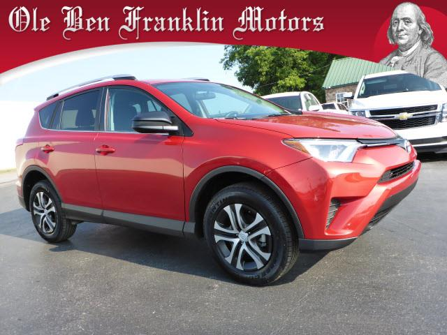 2016 TOYOTA RAV4 LE AWD 4DR SUV red crumple zones frontmulti-function displaystability control