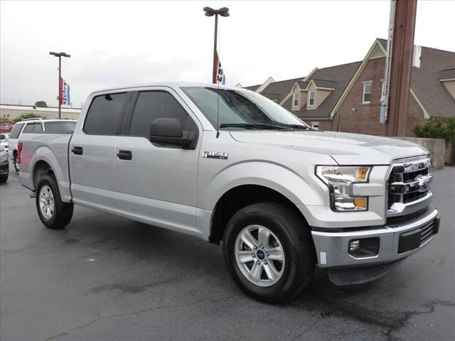 2015 FORD F-150 XLT 4X2 4DR SUPERCREW 55 FT SB silver impact sensor post-collision safety syste