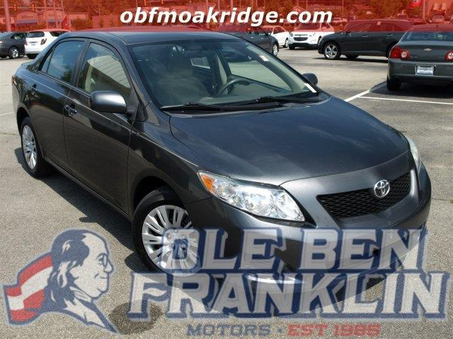 2009 TOYOTA COROLLA unspecified boasts 35 highway mpg and 26 city mpg this toyota corolla boasts