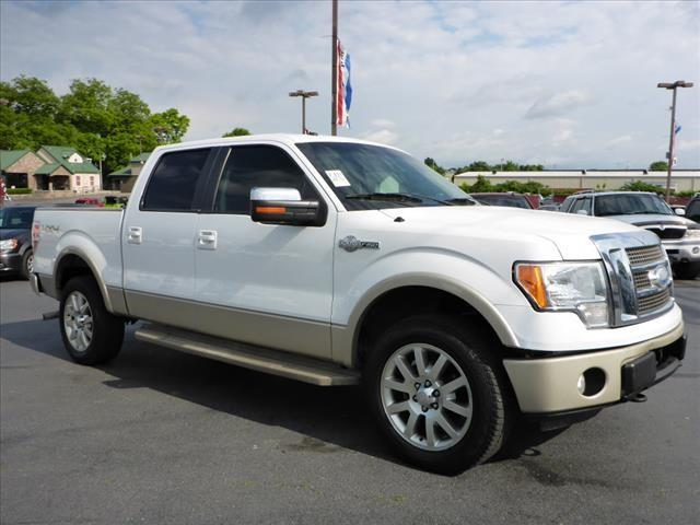 2009 FORD F-150 KING RANCH white roll stability controlstability controlabs brakes 4-wheelai