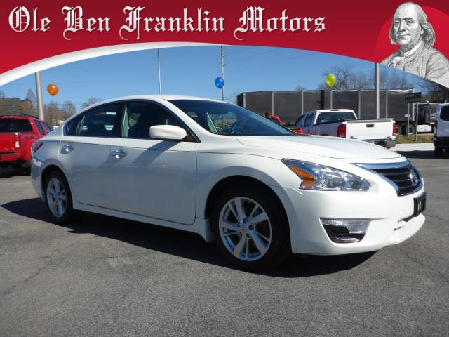 2013 NISSAN ALTIMA 25 SV 4DR SEDAN white crumple zones front and rearsecurity remote anti-theft