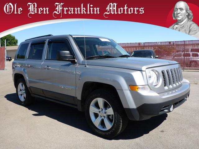 2016 JEEP PATRIOT SPORT 4X4 4DR SUV silver stability control electronicphone wireless data link