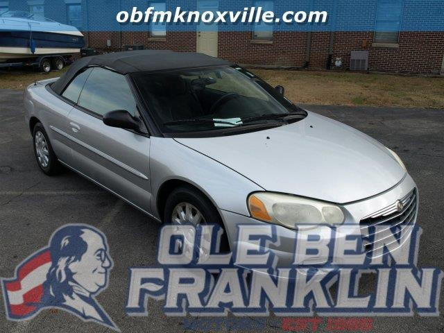 2004 CHRYSLER SEBRING BASE 2DR CONVERTIBLE silver scores 30 highway mpg and 22 city mpg this chr
