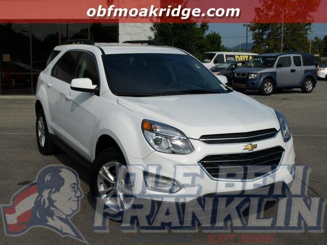 2016 CHEVROLET EQUINOX LT 4DR SUV white only 11067 miles scores 32 highway mpg and 22 city mpg