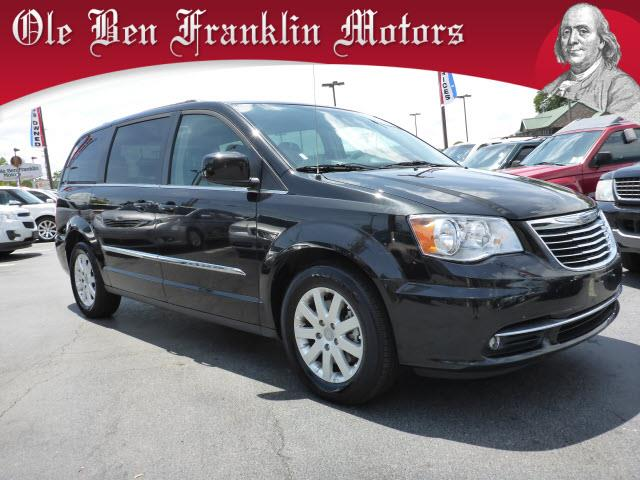2016 CHRYSLER TOWN AND COUNTRY TOURING 4DR MINI VAN black multi-function displaystability contro