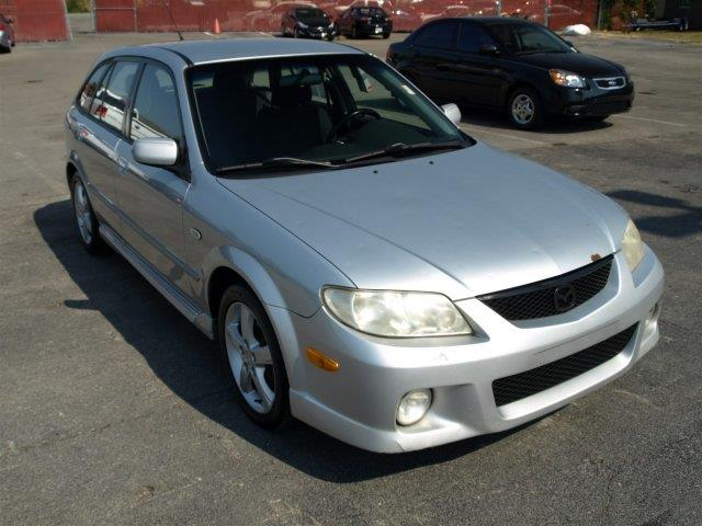 2003 MAZDA PROTEGE5 BASE 4DR WAGON unspecified scores 31 highway mpg and 25 city mpg this mazda