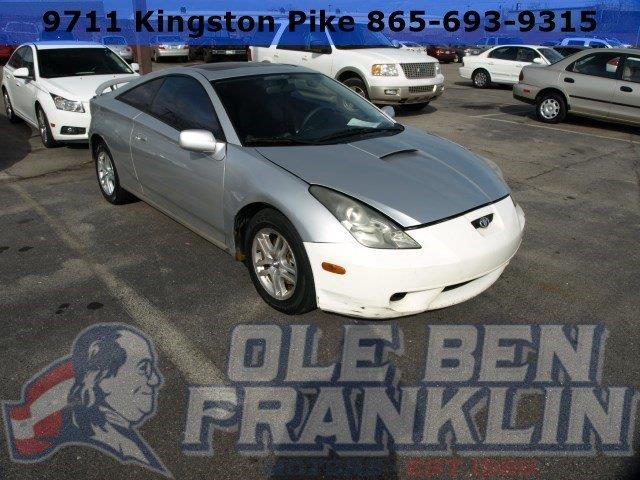 2003 TOYOTA CELICA GT 2DR HATCHBACK silver delivers 33 highway mpg and 27 city mpg this toyota c