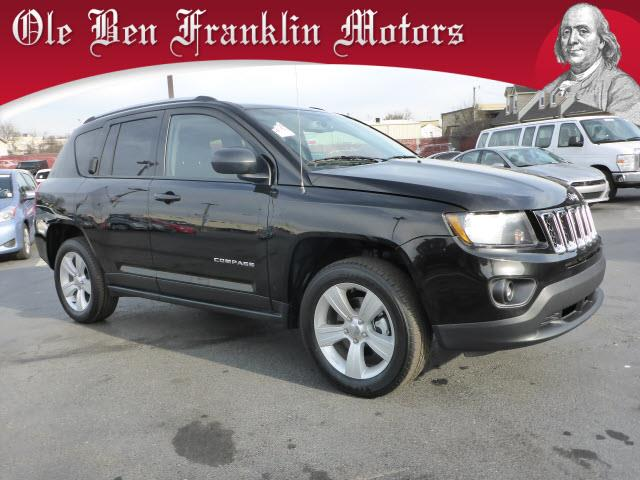 2016 JEEP COMPASS SPORT 4DR SUV black bring your digital music collection to life this baby is r