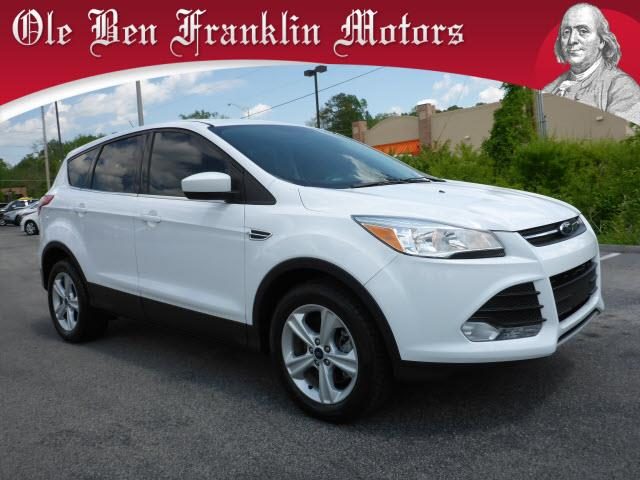 2014 FORD ESCAPE SE AWD 4DR SUV white impact sensor post-collision safety systemcrumple zones fr