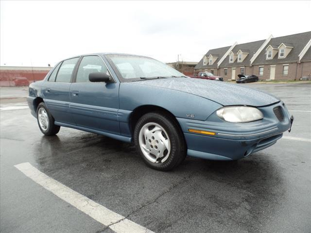 1997 PONTIAC GRAND AM SE 4DR SEDAN blue abs brakes 4-wheelair conditioning - frontairbags - f