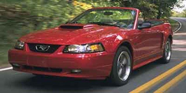 2001 FORD MUSTANG GT DELUXE 2DR CONVERTIBLE zinc yellow only 95698 miles scores 25 highway mpg