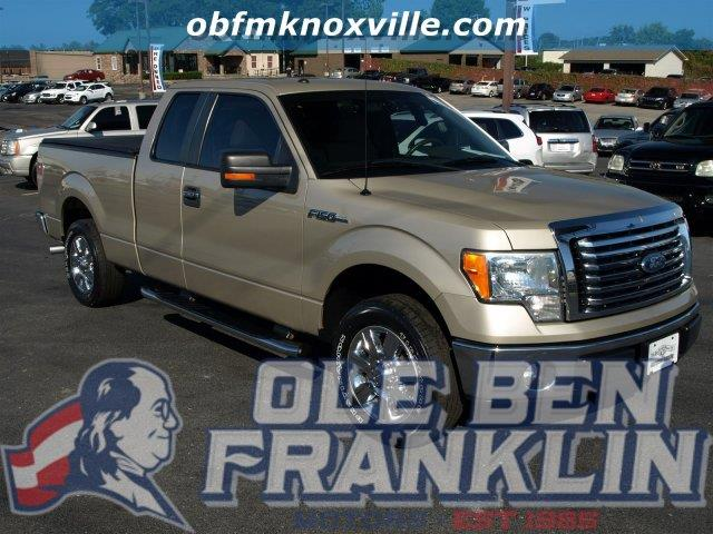 2010 FORD F-150 XLT CHROME PACKAGE pueblo gold metallic scores 20 highway mpg and 14 city mpg th