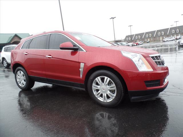 2012 CADILLAC SRX LUXURY COLLECTION 4DR SUV red parking sensors front and rearmemorized settings