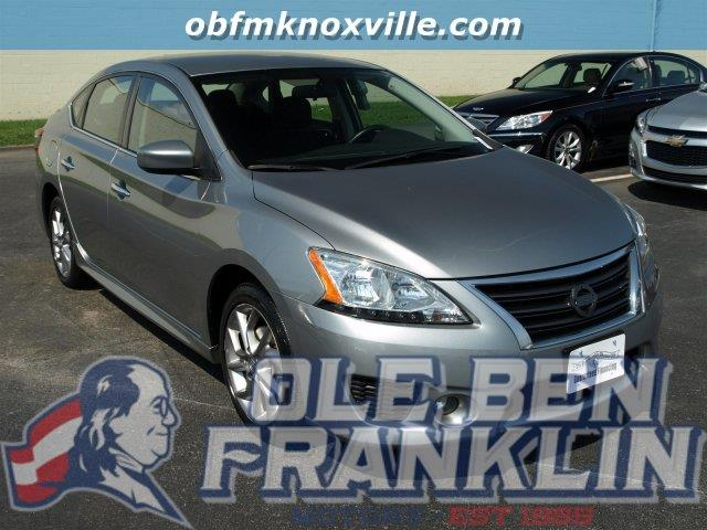 2013 NISSAN SENTRA S 4DR SEDAN CVT gray only 26815 miles delivers 39 highway mpg and 30 city mp