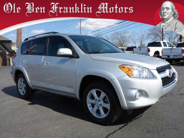 2012 TOYOTA RAV4 LIMITED 4DR SUV V6 silver power sunroofcrumple zones frontstability controlhi