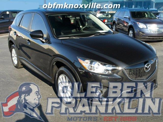 2013 MAZDA CX-5 TOURING 4DR SUV black mica only 24688 miles boasts 32 highway mpg and 26 city m