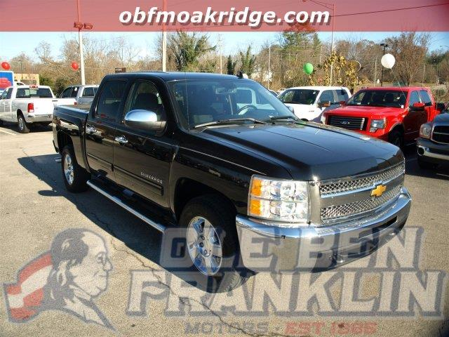 2013 CHEVROLET SILVERADO 1500 LT 4X2 4DR CREW CAB 58 FT SB black boasts 21 highway mpg and 15 c
