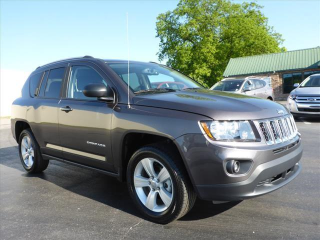 2016 JEEP COMPASS SPORT 4X4 4DR SUV gray impact sensor post-collision safety systemcrumple zones