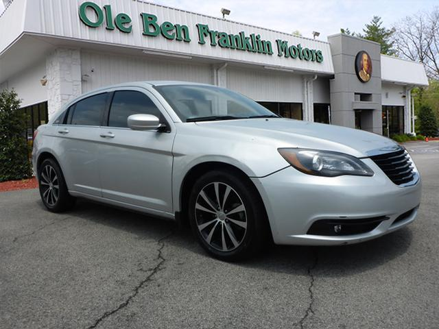 2012 CHRYSLER 200 TOURING 4DR SEDAN silver impact sensor fuel cut-offsecurity anti-theft alarm s