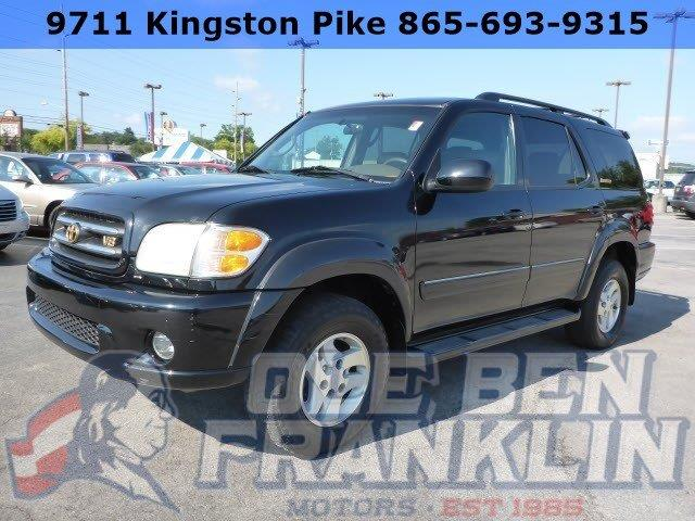 2002 TOYOTA SEQUOIA LIMITED 4WD 4DR SUV unspecified boasts 17 highway mpg and 14 city mpg this t
