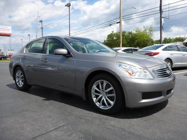 2008 INFINITI G35 JOURNEY 4DR SEDAN silver security remote anti-theft alarm systemstability cont