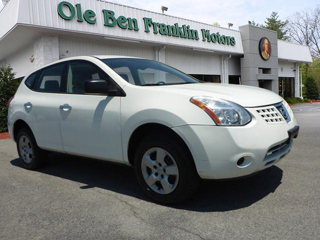 2010 NISSAN ROGUE S 4DR CROSSOVER off white crumple zones frontcrumple zones rearstability cont