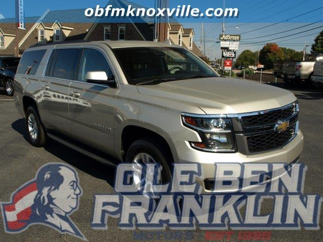 2015 CHEVROLET SUBURBAN LT 1500 4X4 4DR SUV beige scores 22 highway mpg and 15 city mpg this che