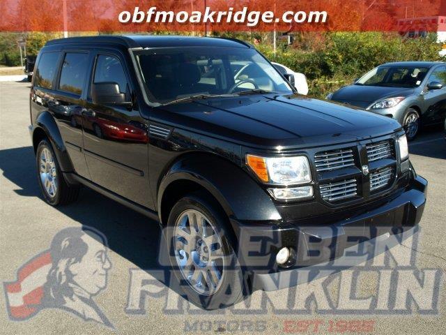 2011 DODGE NITRO HEAT 4X2 4DR SUV black boasts 22 highway mpg and 16 city mpg this dodge nitro b