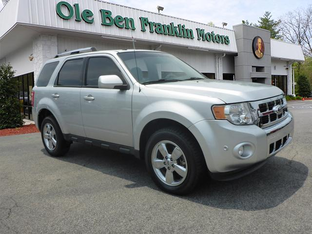 2011 FORD ESCAPE LIMITED 4DR SUV silver impact sensor post-collision safety systemroll stability