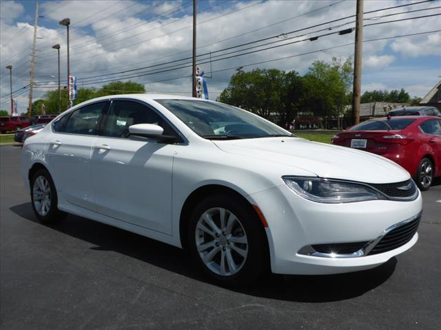 2015 CHRYSLER 200 LIMITED 4DR SEDAN white stability control electronicdriver information system