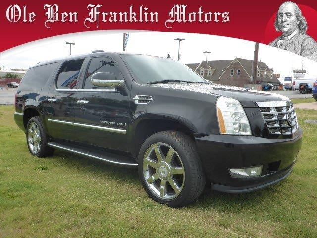 2007 CADILLAC ESCALADE ESV BASE AWD 4DR SUV black raven scores 19 highway mpg and 13 city mpg th