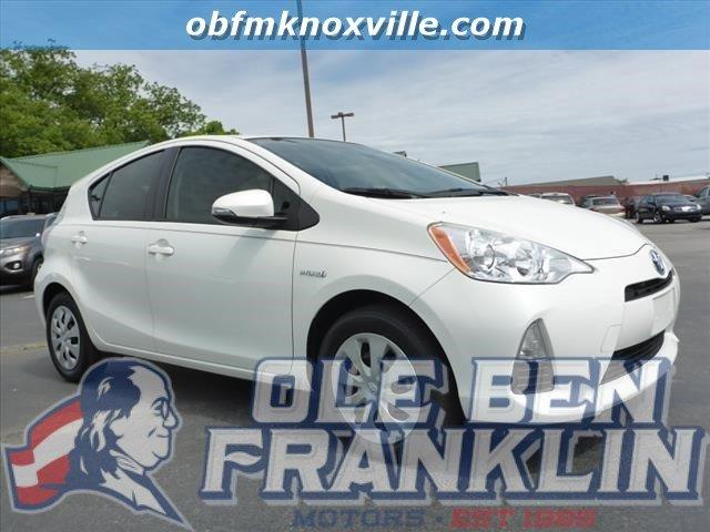 2012 TOYOTA PRIUS C ONE 4DR HATCHBACK silver only 30291 miles boasts 46 highway mpg and 53 city