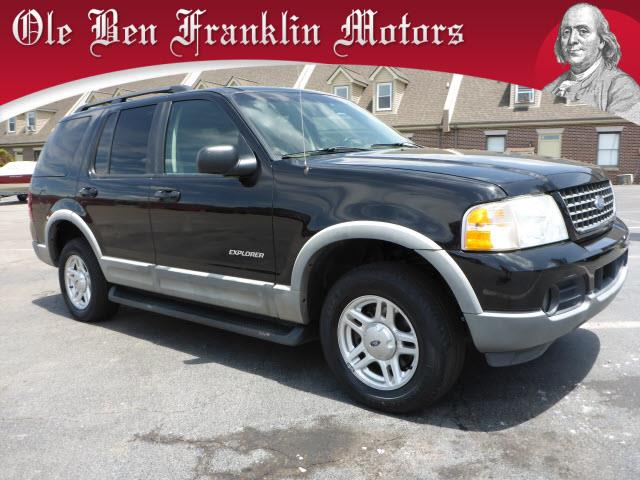 2002 FORD EXPLORER XLT 4DR 4WD SUV black security anti-theft alarm systemabs brakes 4-wheelai