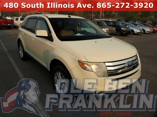 2008 FORD EDGE SEL 4DR SUV white delivers 24 highway mpg and 16 city mpg this ford edge boasts a