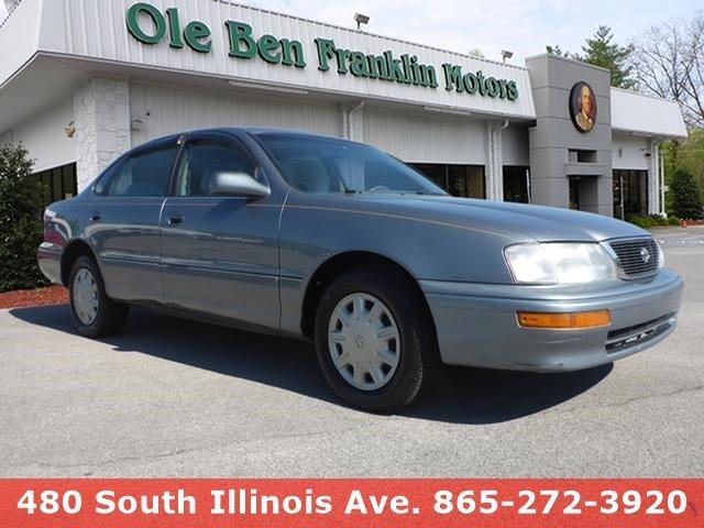1997 TOYOTA AVALON XL 4DR SEDAN gray delivers 31 highway mpg and 21 city mpg this toyota avalon