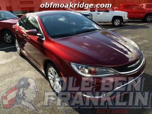 2015 CHRYSLER 200 LIMITED 4DR SEDAN red delivers 36 highway mpg and 23 city mpg this chrysler 20