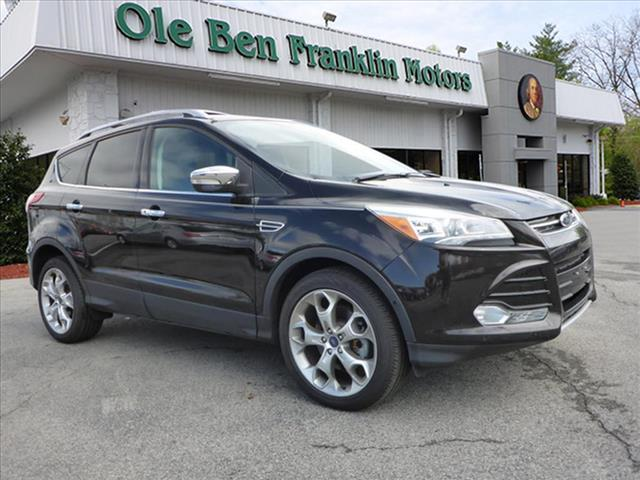 2013 FORD ESCAPE TITANIUM AWD 4DR SUV unspecified redesigned escapelook sharp in this all new