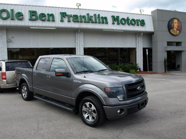 2013 FORD F-150 gray scores 21 highway mpg and 15 city mpg this ford f-150 delivers a gasethano