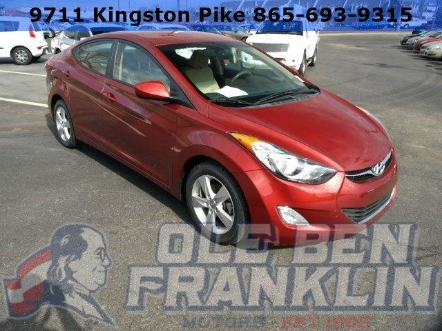 2013 HYUNDAI ELANTRA GLS PZEV red only 33779 miles delivers 38 highway mpg and 28 city mpg thi