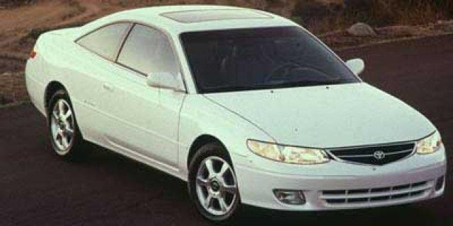 1999 TOYOTA CAMRY SOLARA SE V6 2DR COUPE silver stream opalescent only 185214 miles delivers 28