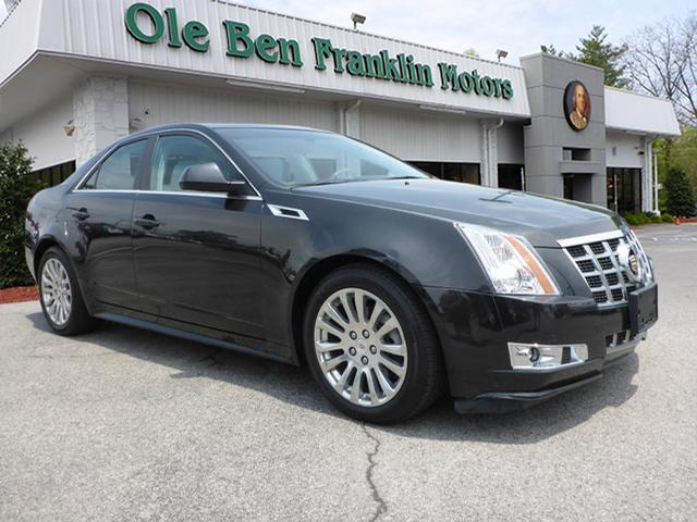 2013 CADILLAC CTS 36L PREMIUM AWD 4DR SEDAN black navigation system with voice recognitionnavig