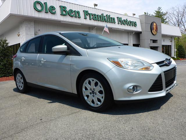 2012 FORD FOCUS SE 4DR HATCHBACK silver security anti-theft alarm systemstability control electr