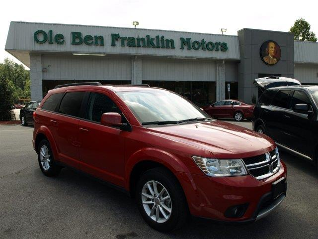 2015 DODGE JOURNEY SXT AWD 4DR SUV redline 2 coat pearl scores 24 highway mpg and 16 city mpg th