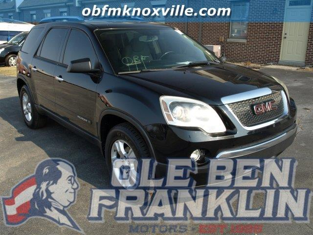 2008 GMC ACADIA SLE-1 4DR SUV black boasts 24 highway mpg and 16 city mpg this gmc acadia delive