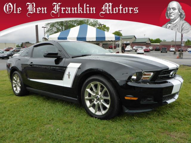 2010 FORD MUSTANG V6 PREMIUM 2DR COUPE black impact sensor post-collision safety systemstability