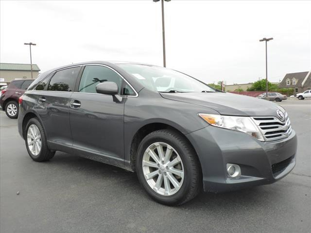2010 TOYOTA VENZA AWD 4CYL 4DR CROSSOVER gray crumple zones frontcrumple zones rearstability co