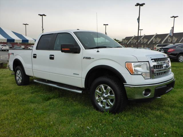 2014 FORD F-150 XLT white impact sensor post-collision safety systemroll stability controlsecur