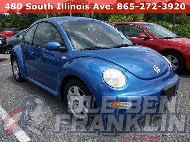 2001 VOLKSWAGEN NEW BEETLE GLX 18T 2DR TURBO HATCHBACK techno blue pearl only 106445 miles boa